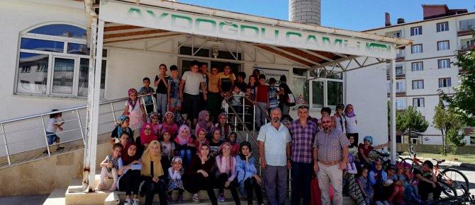 Aydoğdu Camiinde Yaz kursu sona erdi