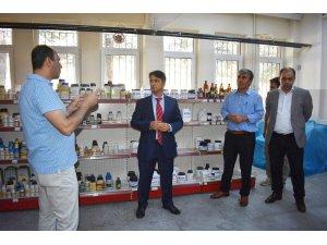Seydişehir'de 'SEYDİ' markalı kimyasal ürünleri üretiliyor