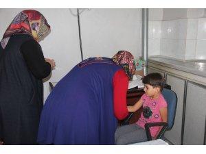 Seydişehir'de öğrencilere sağlık taraması