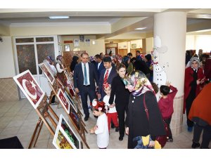 Kardelen anaokulunda Atatürk sergisi