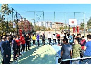 ÇOGEP tenis turnuvası düzenlendi