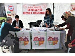 Seydişehir'de organ bağış kampanyası