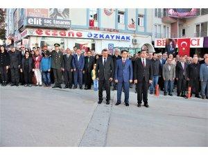 10 Kasım Atatürk'e anma programı