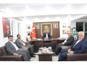 KONSİAD GENEL BAŞKANI ÇELİK'TEN BAŞKAN TUTAL'A ZİYARET