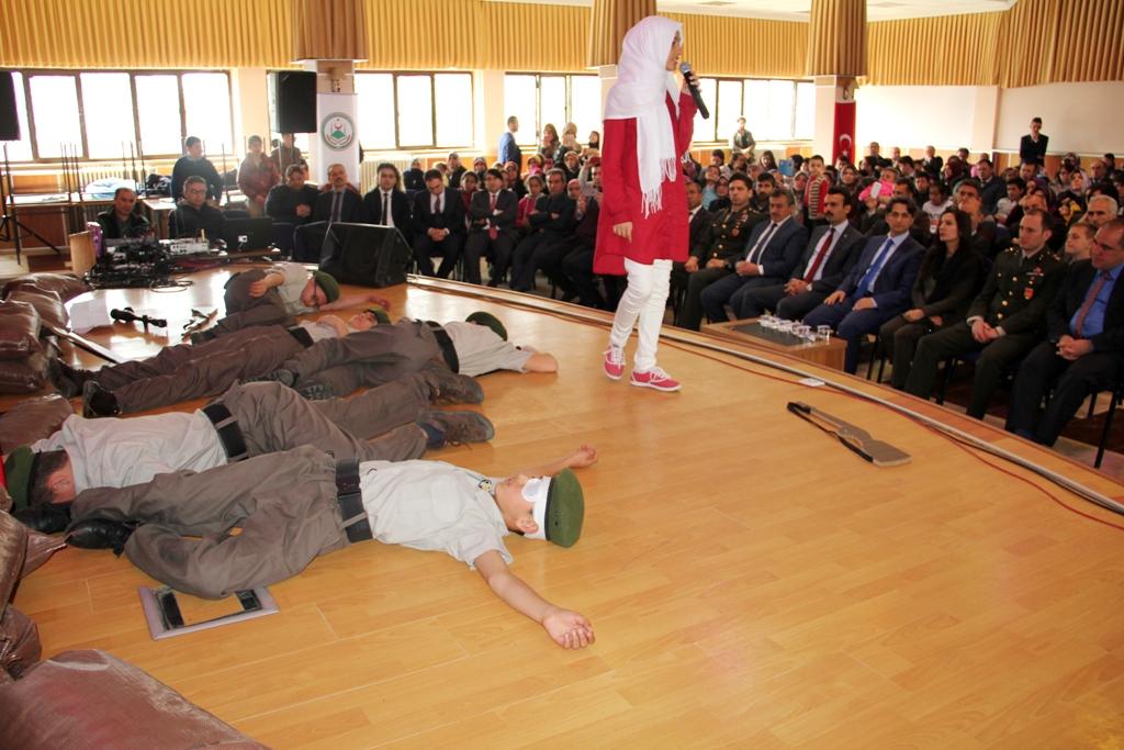 Seydişehir'de şehitleri anma programı