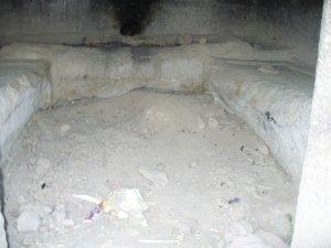 İncesu mahallesinde bir frig kaya mezarı