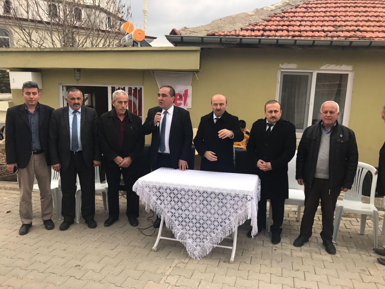 BAKAN YARDIMCISI TÜFEKCİ'DEN TAŞRA MAHALLELERE ZİYARET