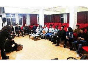 KYK'da kalan öğrencilere ilk yardım eğitimi