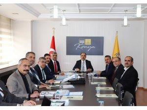 Başkan Altay 31 İlçenin Yöneticileri ile Görüştü