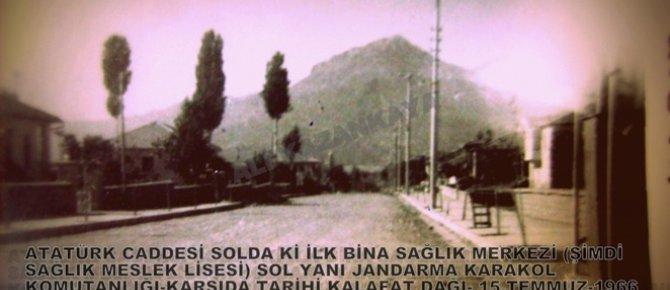 Seydişehir'in dünü  Eski sokakları ve evleri: