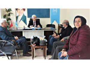 Gazetecilerden İYİ Partiye hayırlı olsun ziyareti