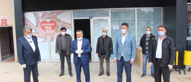 """BAŞKAN TUTAL'DAN """"SEYDİŞEHİR TEK YÜREK""""KAMPANYASINA YARDIM"""