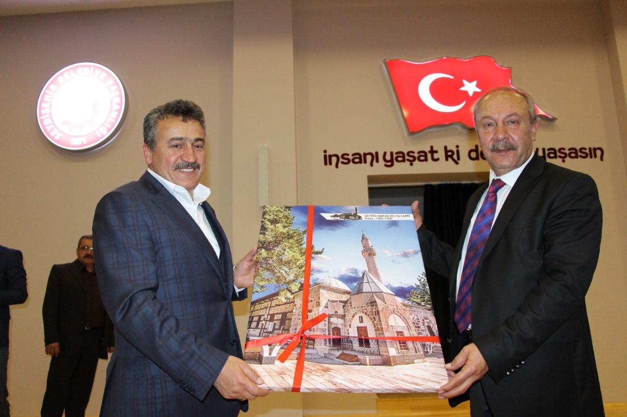 PROF.DR. MEHMET ÇELİK'TEN SEYDİŞEHİR'DE KONFERANS