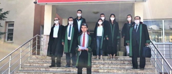 Seydişehirli avukatlardan savunma yürüyüşüne destek