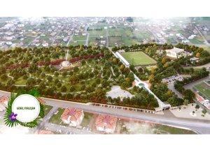 Seydişehir Millet Bahçesi yapımına başlandı