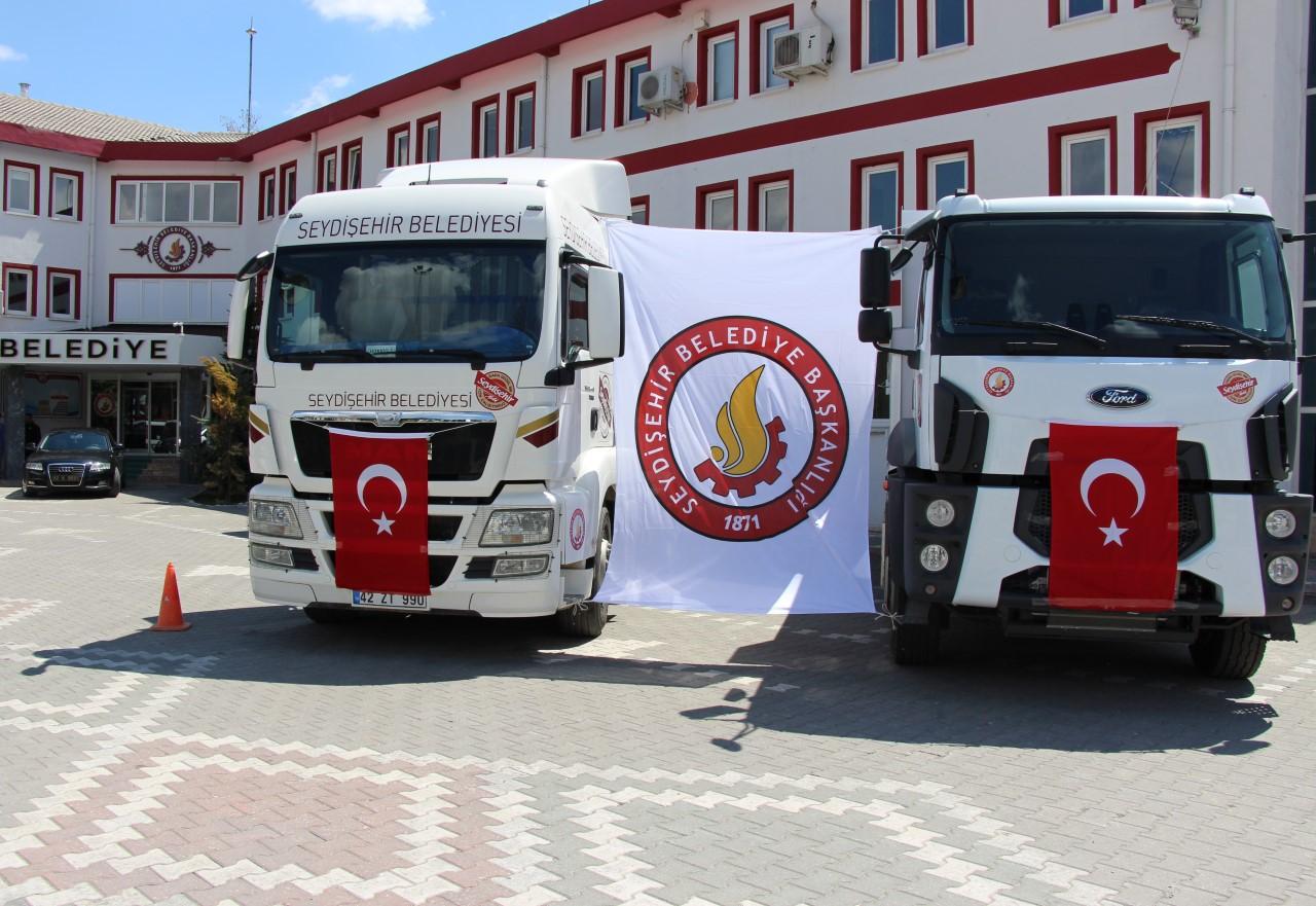 Seydişehir Belediye araç filosu güçleniyor