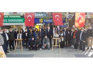 CHP İL ÖRGÜTÜ  Atatürk evinde Atatürk resimleri sergisi açtı