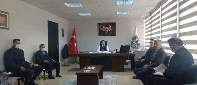 Emniyet, Asayiş ve Salgınla Mücadele Koordinasyon Toplantısı Yapıldı