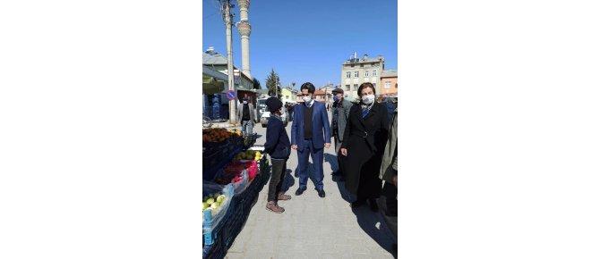 Kaymakam Aydın ERDOĞAN Ortakaraören Mahallesini Ziyaret Etti