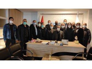 Seydişehir Gazeteciler Cemiyeti Başkanı Ali Saylam güven tazeledi