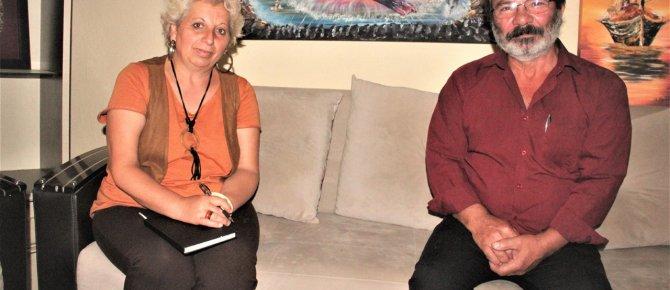 Ressam- Şair, yazar Mehmet Aydın ile Söyleşi