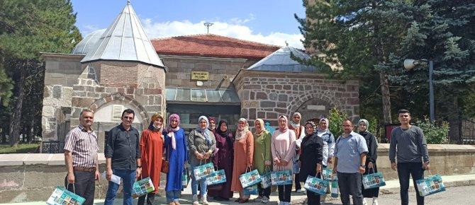 Tarihi ve Doğal Güzellikleri İle Seydişehir' e Hayran Kaldılar