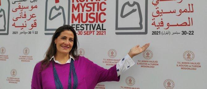 Ürdünlü Sanatçı Müziğiyle Konya'dan Dünya'ya İlahi Aşk ve Sevgi Mesajı Verecek