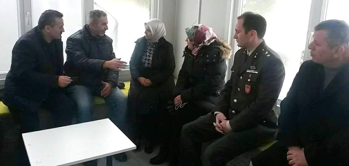 Milletvekili Erdoğan'dan şehit evine taziye ziyareti