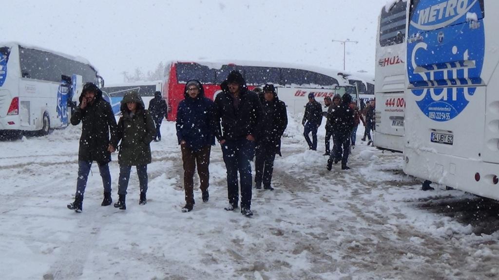 Seydişehir'de kış