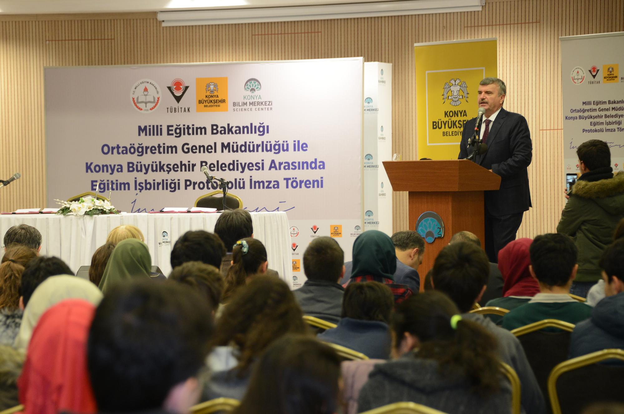 """""""Konya Ülkemizin Bilim Şehirlerinden Biri Konumuna Geldi"""""""