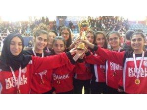 Okul Sporlarında Seydişehir Anadolu Lisesi Genç Kızlar Basketbol, Genç Kızlar Futsal ve Genç Erkekler Futsal da Seydişehir Birincisi Oldular